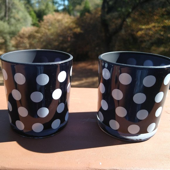 None Other - Kate Spade Inspired Candle Holder/Cozy glass
